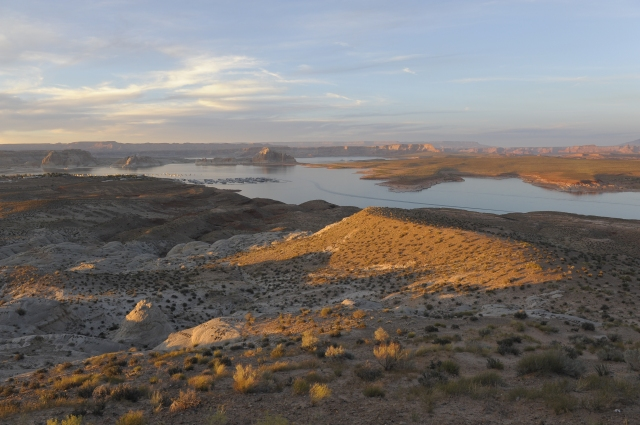Sonnenuntergang am Lake Powell