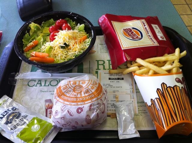 Gesundes Mittagessen