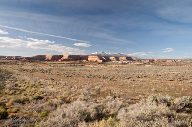 Auf dem Weg vom Monument Valley nach Moab